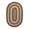 Colonial Mills Brooklyn 7-ft x 9-ft Oval Multicolor Transitional Indoor/Outdoor Area Rug