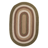 Colonial Mills Brooklyn Oval Multicolor Transitional Indoor/Outdoor Area Rug (Common: 10-ft x 13-ft; Actual: 10-ft x 13-ft)