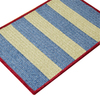 Colonial Mills Chenille Wide Stripe 11-ft x 11-ft Square Multicolor Geometric Indoor/Outdoor Area Rug