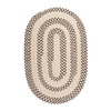 Colonial Mills Elmwood 24-in x 36-in Oval Multicolor Transitional Accent Rug