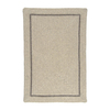 Colonial Mills Shear Natural 7-ft x 9-ft Rectangular Multicolor Border Area Rug