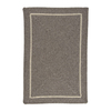Colonial Mills Shear Natural 36-in x 60-in Rectangular Multicolor Border Accent Rug