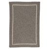 Colonial Mills Shear Natural 4-ft x 6-ft Rectangular Multicolor Border Area Rug
