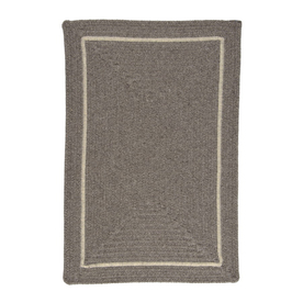 Colonial Mills Shear Natural Rectangular Multicolor with Multicolor Border Wool Area Rug (Common: 10-ft x 13-ft; Actual: 10-ft x 13-ft)