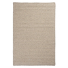 Colonial Mills Natural Wool Houndstooth 36-in x 60-in Rectangular Beige  Rug