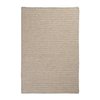 Colonial Mills 7-ft x 9-ft Rectangular Beige Solid Area Rug