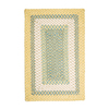Colonial Mills Montego Sundance Rectangular Indoor/Outdoor Braided Throw Rug (Common: 2 x 3; Actual: 24-in W x 36-in L)