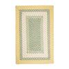 Colonial Mills Montego Yellow Indoor/Outdoor Runner (Common: 2-ft x 12-ft; Actual: 24-in x 144-in)