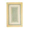 Colonial Mills Montego Square Multicolor Transitional Indoor/Outdoor Area Rug (Common: 12-ft x 12-ft; Actual: 12-ft x 12-ft)