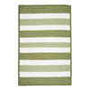Colonial Mills Portico Edamame Rectangular Indoor/Outdoor Braided Throw Rug (Common: 2 x 4; Actual: 24-in W x 48-in L)