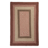 Colonial Mills Tiburon 4-ft x 6-ft Rectangular Multicolor Transitional Indoor/Outdoor Area Rug