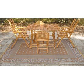 Patio Mats 108-in W x 144-in L Royal Beige Anti-Fatigue Mat