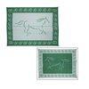 Patio Mats Horse Rectangular Green Animals Indoor/Outdoor Area Rug (Common: 9-ft x 12-ft; Actual: 9-ft x 12-ft)