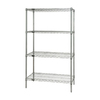 Quantum Storage Systems 74-in H x 36-in W x 24-in D 4-Tier Freestanding Shelving Unit