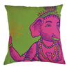 KOKO Company 22-in W x 22-in L Lime Square Accent Pillow