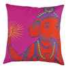 KOKO Company 22-in W x 22-in L Fuchsia Square Accent Pillow