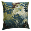 KOKO Company 18-in W x 18-in L Blue Square Accent Pillow