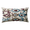KOKO Company 27-in W x 15-in L Multicolored Rectangular Accent Pillow