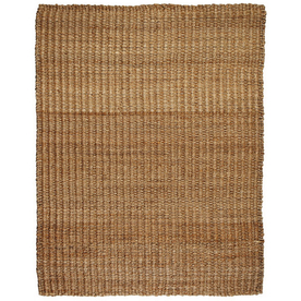 Anji Mountain River Sand Rectangular Indoor Woven Oriental Area Rug (Common: 5 x 8; Actual: 60-in W x 96-in L)