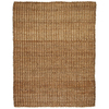 Anji Mountain Jute 9-ft x 12-ft Rectangular Solid Area Rug