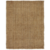 Anji Mountain Jute 4-ft x 5-ft Rectangular Solid Area Rug