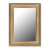 Hitchcock-Butterfield 31-in x 41-in Regal Gold Rectangle Framed Wall Mirror