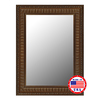 Hitchcock-Butterfield 28-in x 64-in Regal Gold Beveled Rectangle Framed Wall Mirror