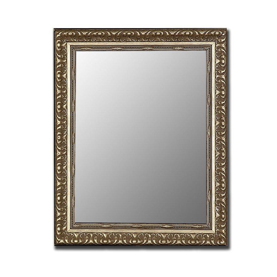 Shop hitchcock butterfield 35 in x 45 in antique silver - Silver bathroom mirror rectangular ...