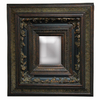 Imagination 29-in x 32-in Dark Gold Rectangular Framed Mirror
