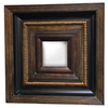 Imagination 28-in x 32-in Dark Gold Rectangular Framed Mirror