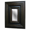 Imagination 26-in x 28-in Dark Gold Rectangular Framed Mirror