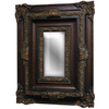 Imagination 26-in x 34-in Dark Gold Rectangular Framed Mirror