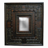 Imagination 28-in x 32-in Copper Gold Rectangular Framed Mirror