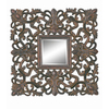 Imagination 29-in x 28-in Dark Gold Rectangular Framed Mirror