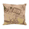UMA Enterprises 16-in W x 16-in L Tan Square Accent Pillow