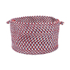 Colonial Mills 18-in W x 12-in H Carnival Fabric Basket