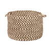 Colonial Mills 18-in W x 12-in H Mint Chip Fabric Basket
