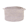 Colonial Mills 18-in W x 12-in H Lilac Loves Fabric Basket