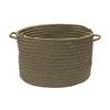 Colonial Mills 18-in W x 12-in H x 18-in D Moss Plastic Basket