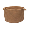 Colonial Mills 18-in W x 12-in H Amber Way Plastic Basket