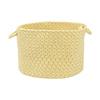 Colonial Mills 18-in W x 12-in H x 18-in D Sundance Plastic Basket