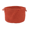 Colonial Mills 18-in W x 12-in H Bonfire Plastic Basket