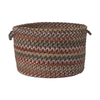 Colonial Mills 18-in W x 12-in H Dusk Fabric Basket