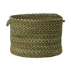 Colonial Mills 18-in W x 12-in H x 18-in D Cabana Fabric Basket