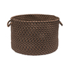 Colonial Mills 18-in W x 12-in H x 18-in D Dockside Plastic Basket