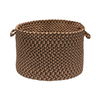 Colonial Mills 18-in W x 12-in H Sandstorm Plastic Basket