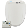 HomeTECH White Toilet-Mounted Bidet
