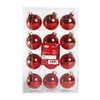 Holiday Living 12-Pack Red Ornament Set