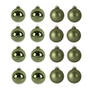 Holiday Living 8-Pack Green Ornament Set