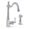 Premier Faucet Sonoma Chrome 1-Handle High-Arc Kitchen Faucet with Side Spray